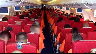 Video How much does Hawaii's con air cost? The price of shuttling inmates to and from the mainland download MP3, 3GP, MP4, WEBM, AVI, FLV November 2017