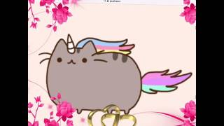Short pusheen and anime video!