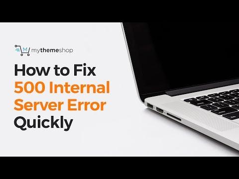 How To Fix The 500 Internal Server Error In WordPress?