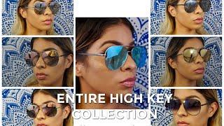 ENTIRE HIGH KEY COLLECTION TRY ON - Green/Gold & Gunmetal Rose (Quay Australia x Desi Perkins)