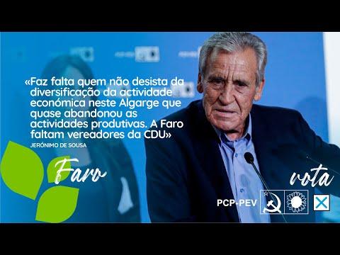 «Faz falta quem não desista deste Algarve que quase abandonou as actividades produtivas»