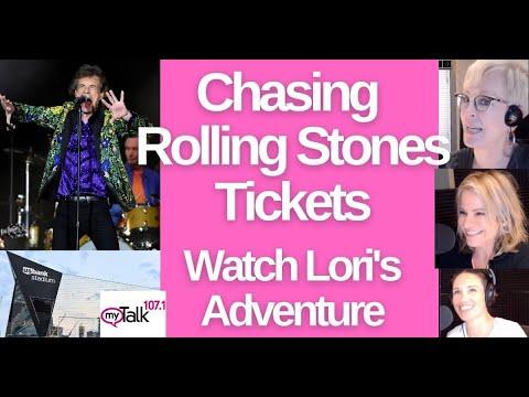 Getting Rolling Stones Tickets - Follow Lori's Adventure #rollingstones #mickjagger