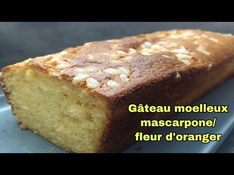 🍎❤️gÂteau-ultra-moelleux-mascarpone-et-fleur-d'oranger-facile-et-rapide