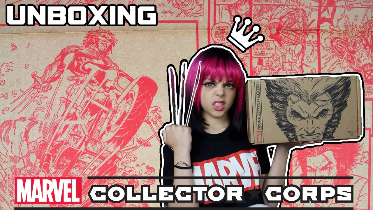 MARVEL COLLECTOR CORPS UNBOXING - X-MEN - YouTube