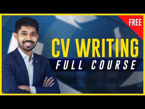 CV Writing Masterclass [Free] | Ayman Sadiq