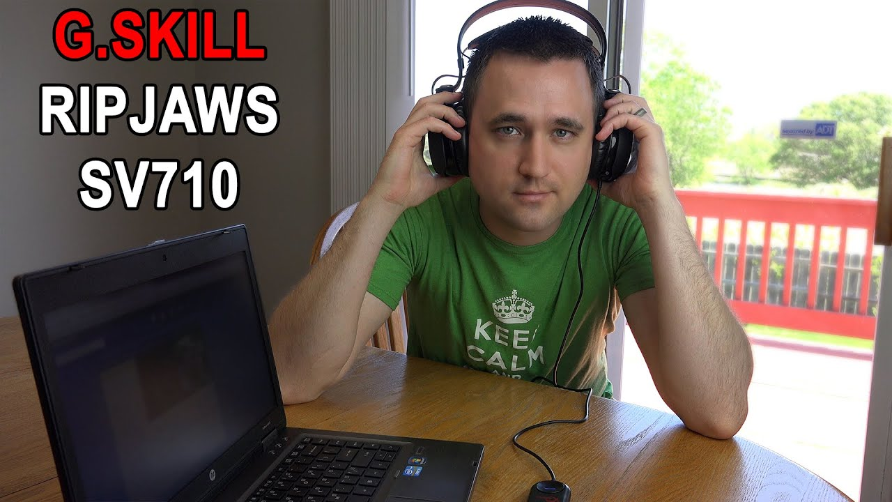 G SKILL Ripjaws SV710 Gaming Headset Review