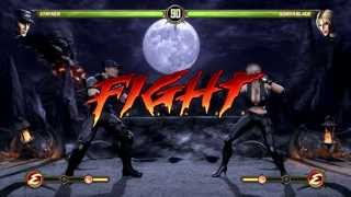 Mortal Kombat: Stryker vs Sonya Blade with FATALITY
