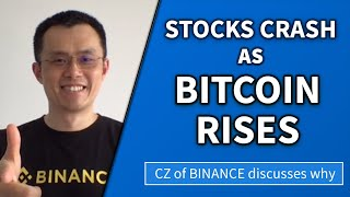 Is cryptocurrency going to collapse like the economy? CZ from Binance explains