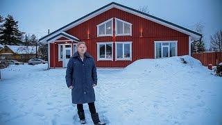 видео Комфортный загородный дом в скандинавском стиле