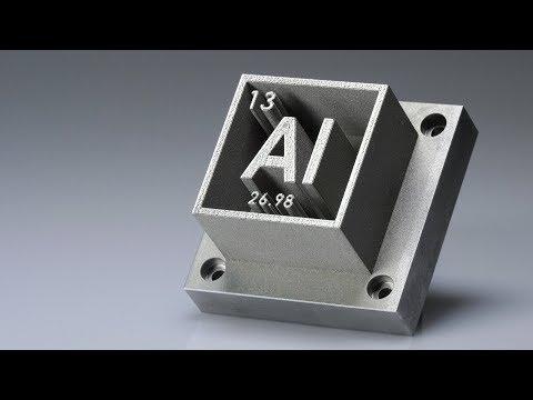 0 - 3D-Druck von hochfestem Aluminium