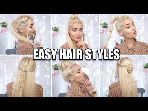 6 QUICK & EASY HEATLESS HAIRSTYLES FOR SCHOOL