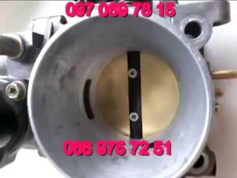 Дроссельная заслонка 56мм на Шевроле Ланос - YouTube
