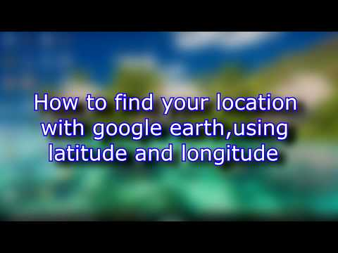 How to find location with googleearth pro,using latitude-longitude and save location