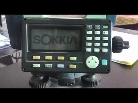 Sokkia Total Station  Data Transfer- Save JOB SDR File To USB And Excel With Plot Auto Cad.