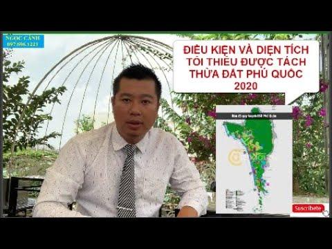 Điều kiện và diện tích tối thiểu được tách thửa đất Phú Quốc 2020