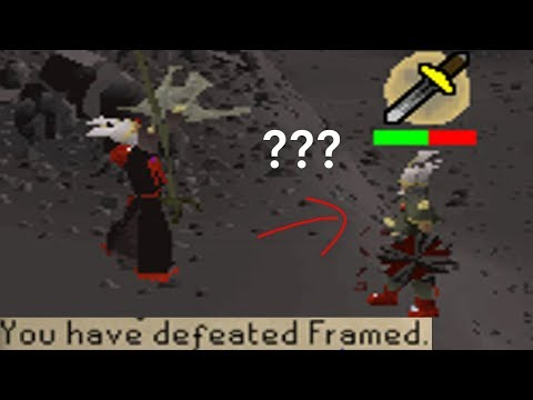 Not sure what he was doing in the wilderness (Ft. Framed)