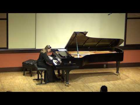 Clelia Iruzun plays Marlos Nobre Tango at MIT Cambridge MA