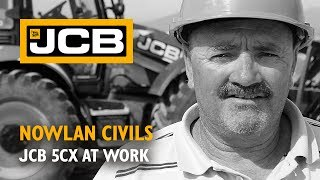JCB 5CX at work for Nowlan Civils - South Africa