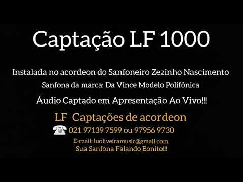 LF Captacões - show Paulinho Costa