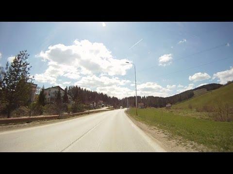 Bosnian road M-5 (02. Han Derventa village - Pale town)