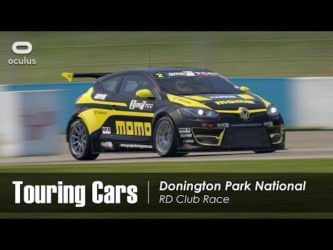 Project CARS 2 VR - Touring Cars - Donington Park National - RD Club Race
