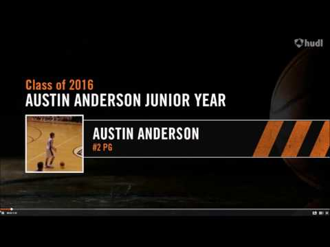 Austin Anderson Junior Year Basketball Highlights Northern Heights High School