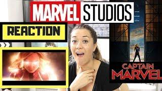 Captain Marvel - Official Trailer - REACTION