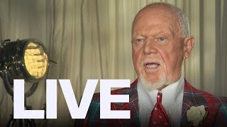 Don Cherry Reacts To Being Fired | ET Canada LIVE