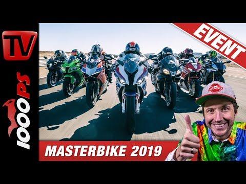 Masterbike 2019 - Superbike Vergleichstest auf der Rennstrecke