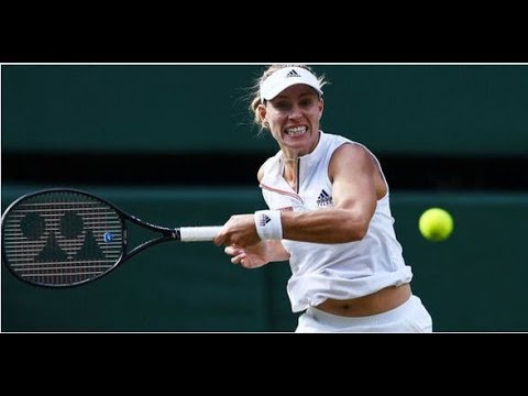 Angelique Kerner Beat Serena Williams In 2018 Wimbledon