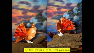 How To Make A Origami Turkey