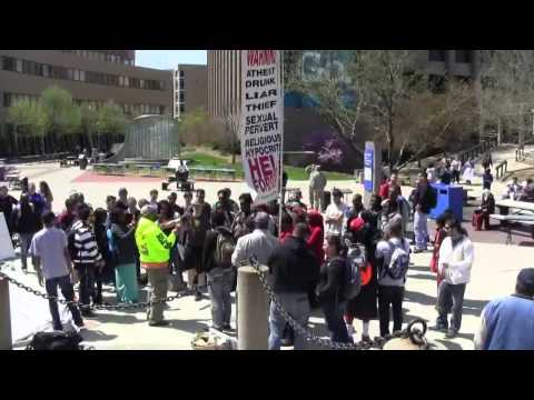 Columbus State Community College | Open Air Preaching | Kerr