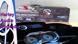 Aquatic AV AQ-MP-5UBT-HS Harley Davidson Stereo Detailed Review