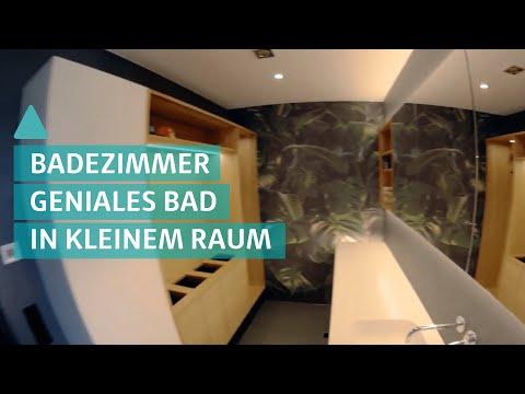 BAUEN & WOHNEN: Geniales Badezimmer auf kleinem Raum - Wellnessoase Bad