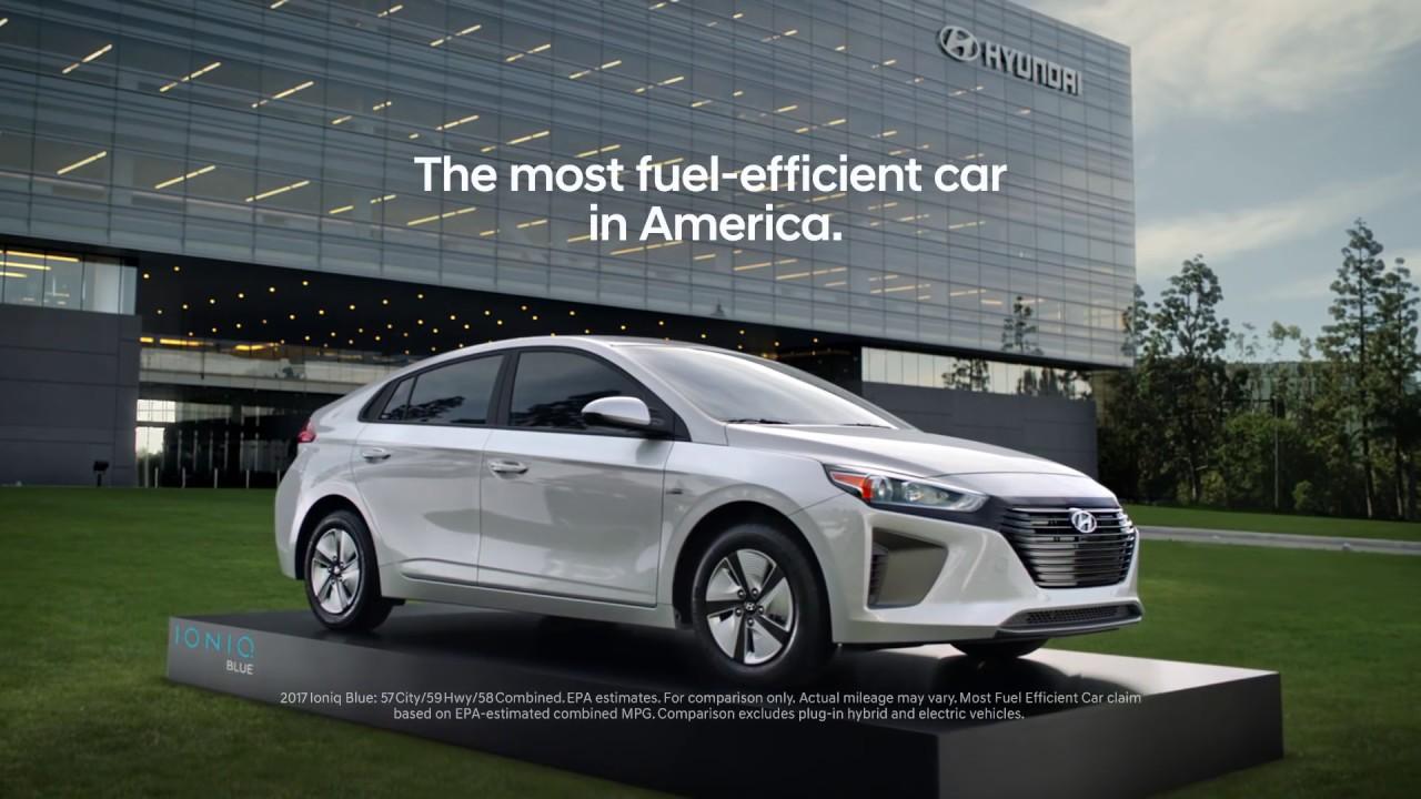 Hyundai Ioniq Commercial 2017