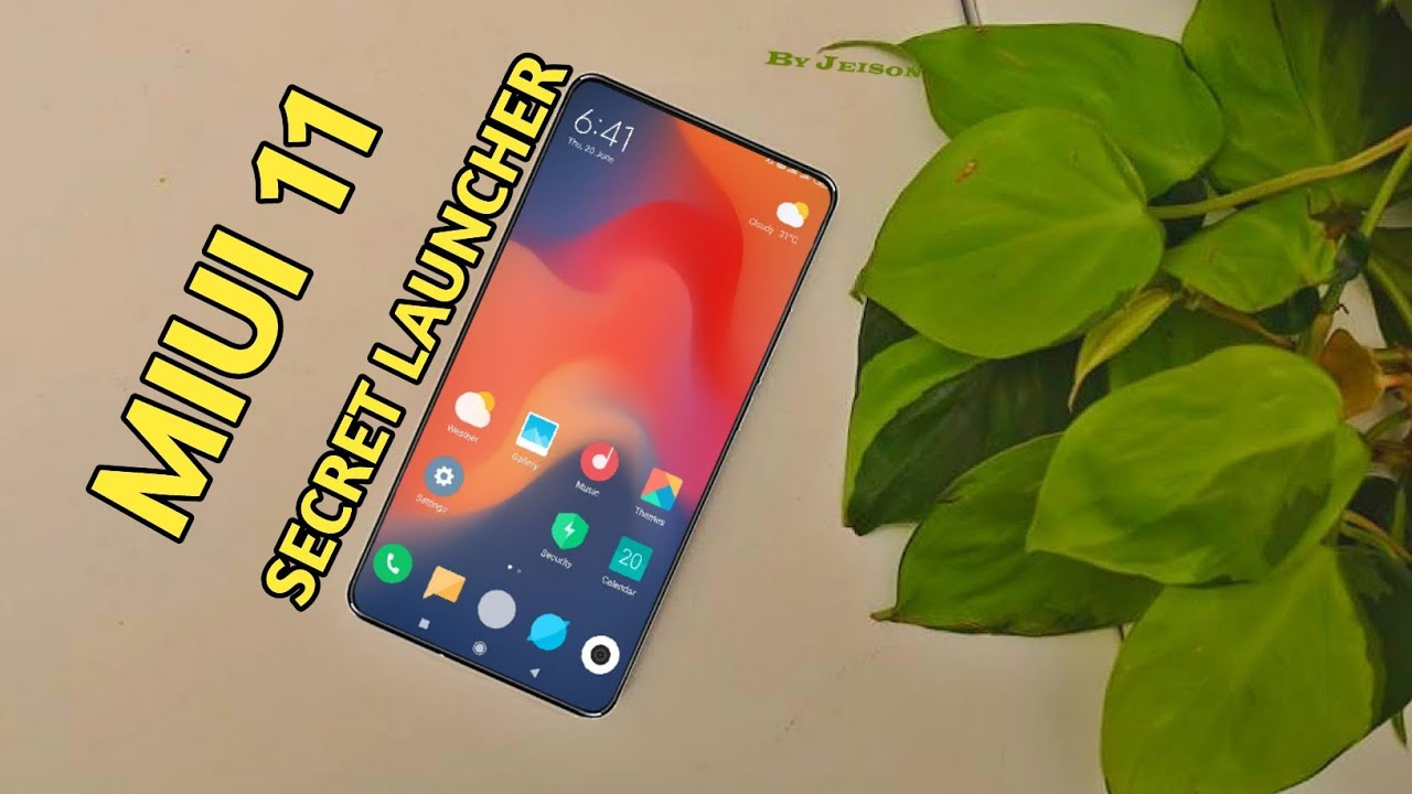 Download MIUI 11 LAUNCHER | New App Drawer, Recent Apps Feature