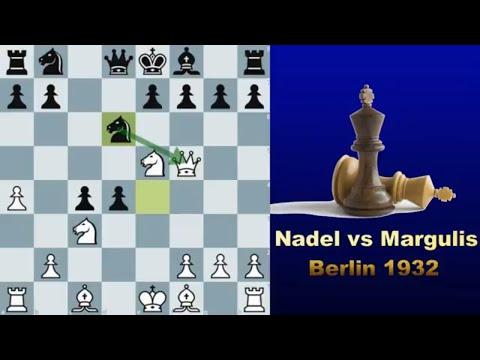 Slaughtering the Slav defence  - Nadel vs Margulis