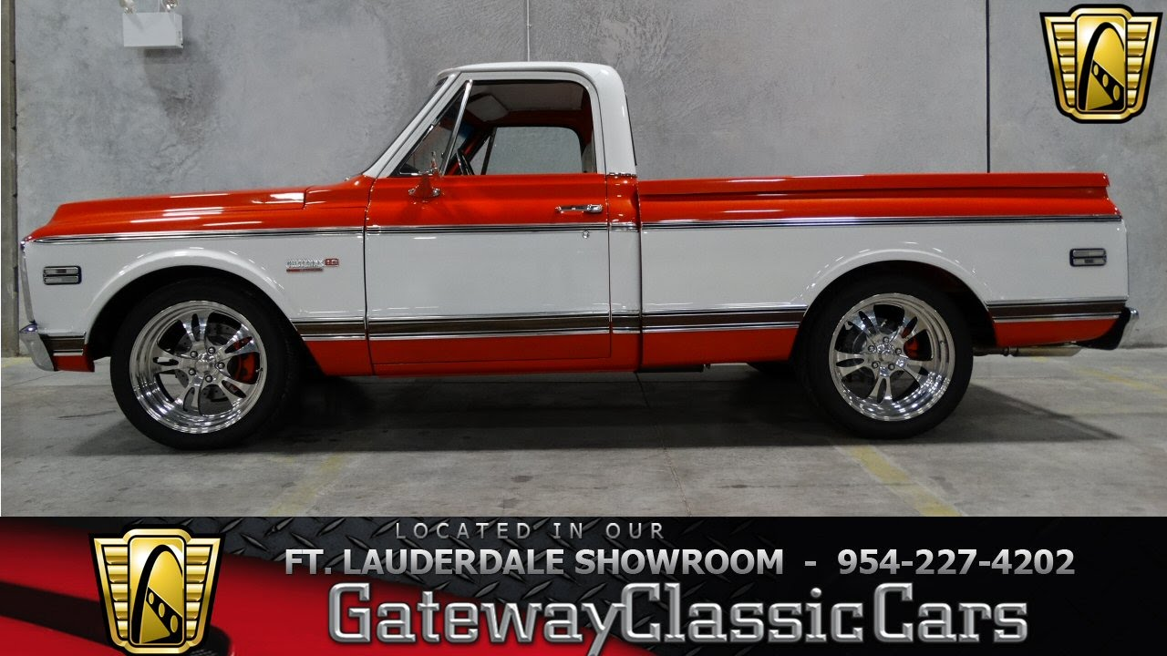 1972 chevrolet custom deluxe c 10 c10 c 10 c 10 pickup truck chevy 1 2 - 1972 Chevrolet C10 Gateway Classic Cars Of Fort Lauderdale 73 Youtube