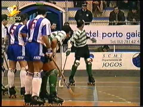 Hoquei em Patins :: 12J :: Porto - 7 x Sporting - 5 de 1993/1994