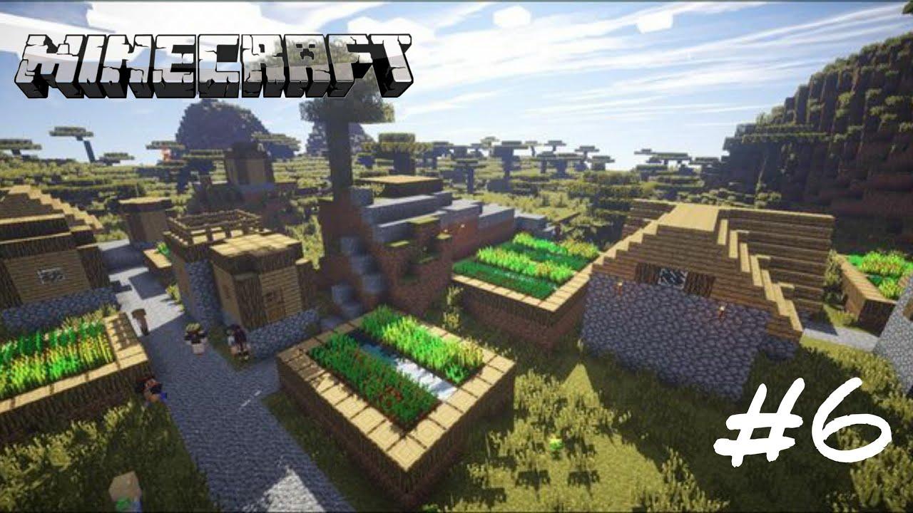 Download I Found a second village in minecraft | Gameplay#6 |Minecraft Malayalam |
