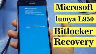 Microsoft Lumia L950 Bitlocker Recovery | Problem Solution