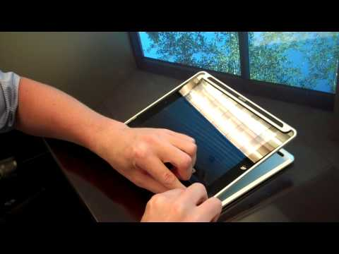 CruxSKUNK - Inserting your iPad