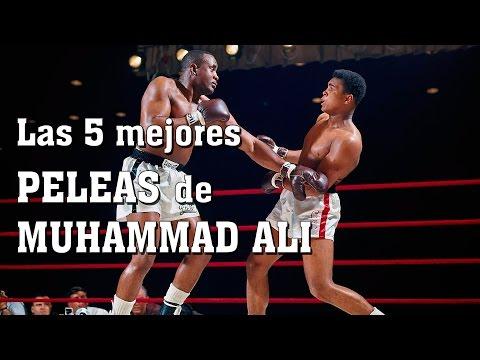 Las 5 mejores peleas de Muhammad Ali (Lo mejor de la historia del BOXEO mundial)