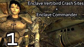 Fallout New Vegas - Enclave Commander + Enclave Vertibird Crash Sites Mod w/ ColeTrainxx - Part 1
