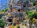 Ликийские гробницы Мира Турция
