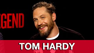 LEGEND Tom Hardy & Brian Helgeland Interview