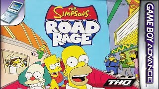 Longplay of The Simpsons: Road Rage
