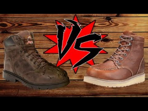 Expensive Vs Cheap Work Boots
