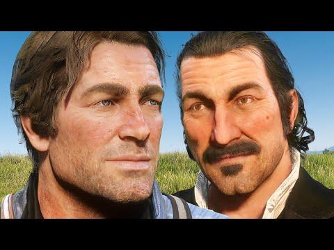 CRAZY Dutch & Arthur Voice Impressions Cause MAYHEM in RED DEAD ONLINE! thumbnail