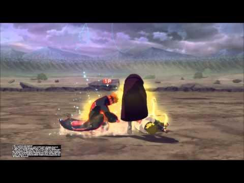 NARUTO SHIPPUDEN™: Ultimate Ninja® STORM 4: Universal Pull + Almighty Push Combo on a Noob
